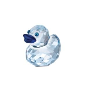 Swarovski Crystal Blue HAPPY DUCKS Figurine